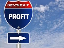 faire des profits